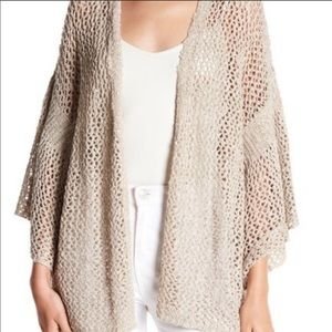 Susina loose knit cream cardigan size XS/S
